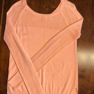 Ivivva Girls Orange Sweater size 14